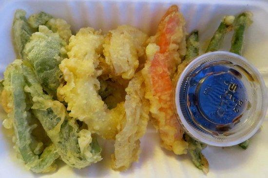Ichizen Japanese Restaurant: Vegetable tempura