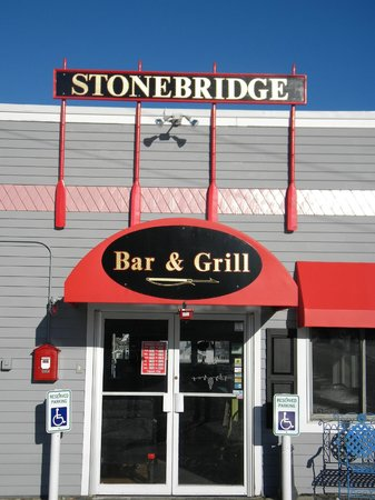 The Stonebridge Bar and Grill: Front Entrance