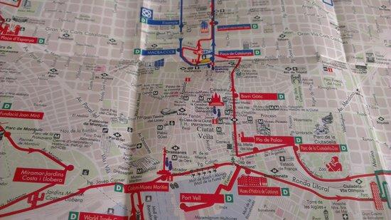 Citadines Ramblas Barcelona : Busturistic tour