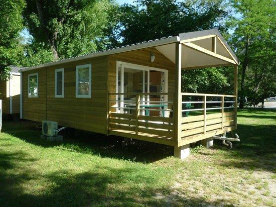 Camping du Lion : Mobil home ALIZE 4/6 pers climatisé