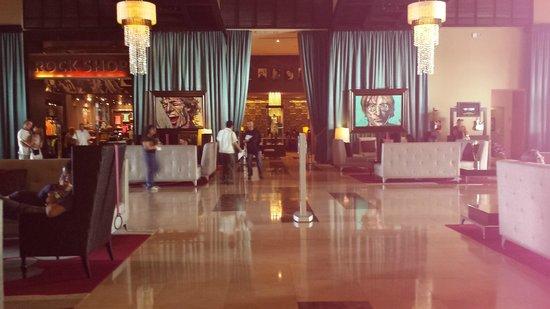Hard Rock Hotel & Casino Punta Cana: Recepção