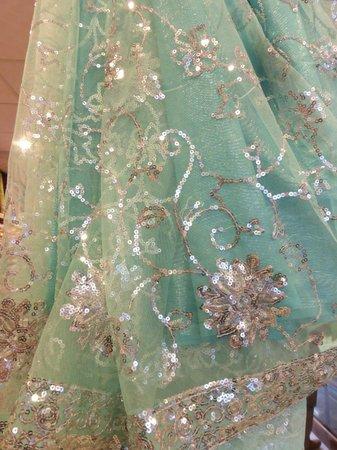 Lady Hill: courses dans un magasin de sari à galle
