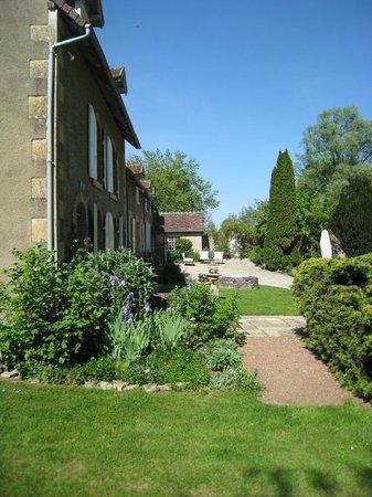 Moulin de la Guesne : tuin