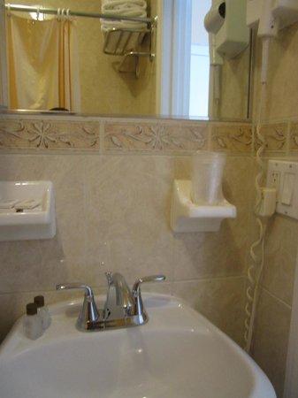 Hotel St. James: Wash basin area