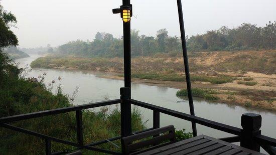 Lampang River Lodge : Petit déjeuner