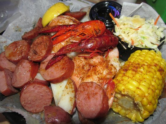 StingRay's on Tybee: Clay's Low Country Feast