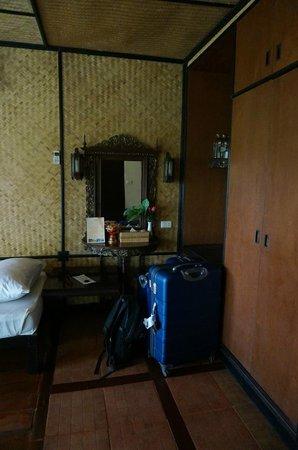 Lampang River Lodge : chambre double Lanna