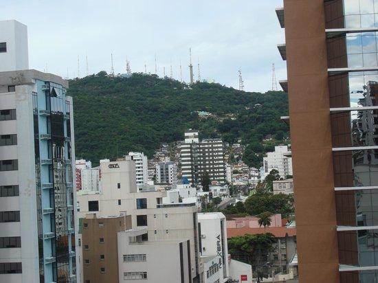 Hotel Porto da Ilha: Vista do Centro de Floripa - andar alto