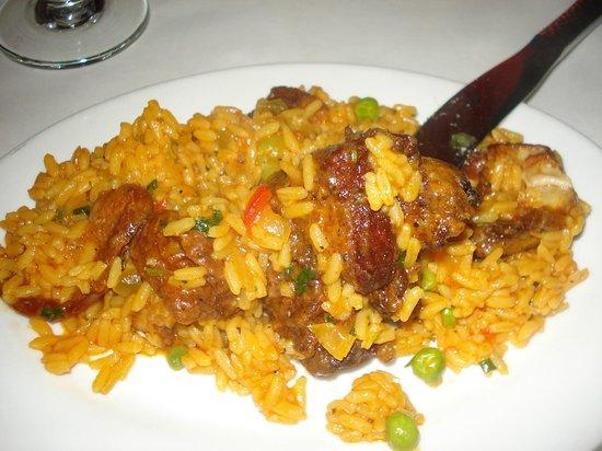 Cabana Restaurant: Arroz con pollo 1 - nel piatto