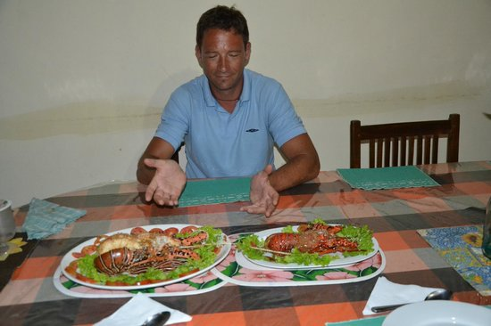 Pethminro Guest House : dinner