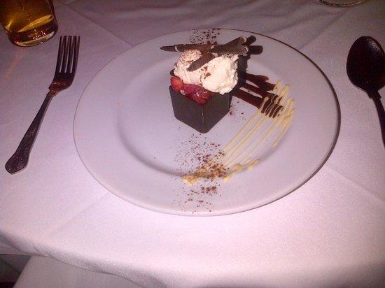 Mercure Telford Madeley Court Hotel: Nice filling dessert