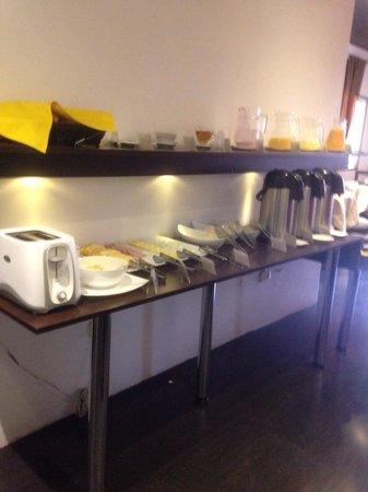 Dreams Hotel Boutique: Desayuno buffet, muy rico!