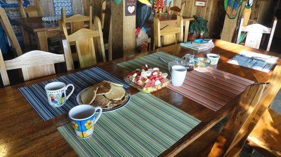 Finca Rio Perla : Breakfast Is Served