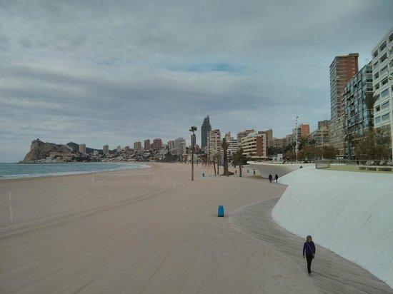 Poniente Beach: Playa de Poniente