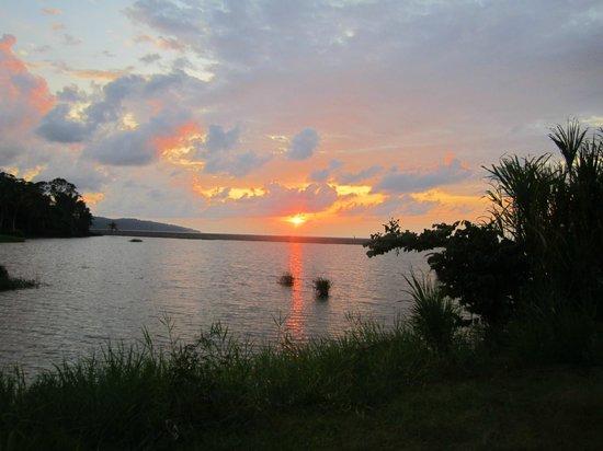 Rio Drake Farm: coucher de soleil vu de riodrakefarm
