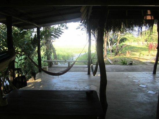Rio Drake Farm: le coin salle à manger et détente