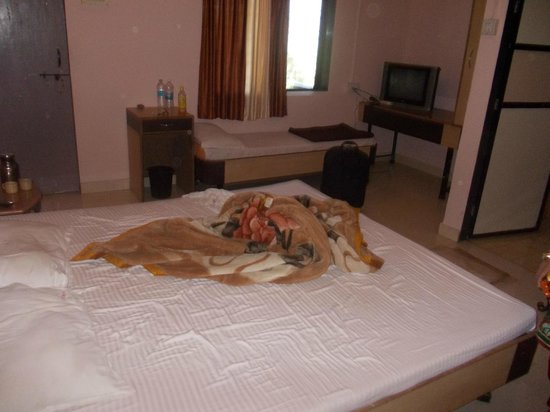 Krishna Continental: Bed in a Different View
