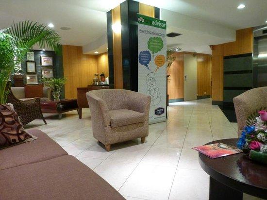 Hampton Inn by Hilton Guayaquil-Downtown : Lobby area
