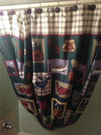 Country Lodge : shower curtain
