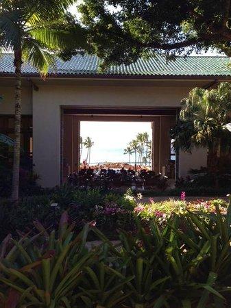 Grand Hyatt Kauai Resort & Spa : View From The Lobby