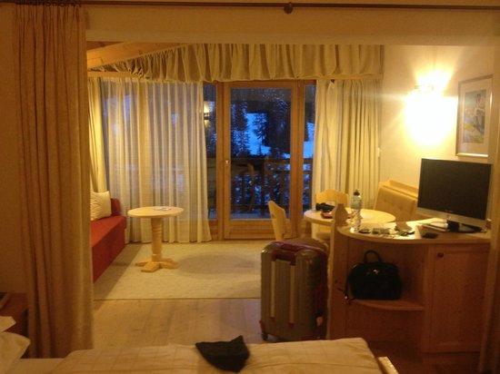 Hotel Gran Paradiso: parte della junior suite