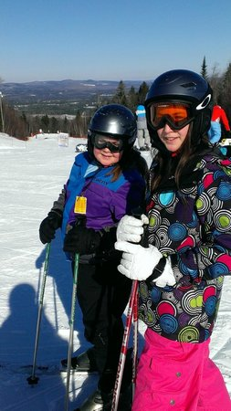 Central Hainesville, Kanada: Excited to try the big hill!