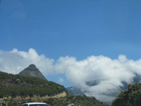 Chapman's Peak Drive: Specail moment with Llanduno in the background