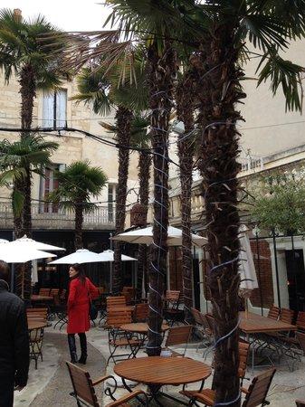 Les Bains de Montpellier: Le petit patio intérieur