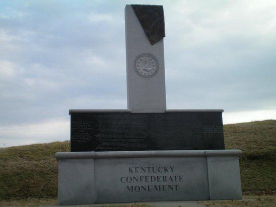 Vicksburg National Military Park: Kentucky Monument