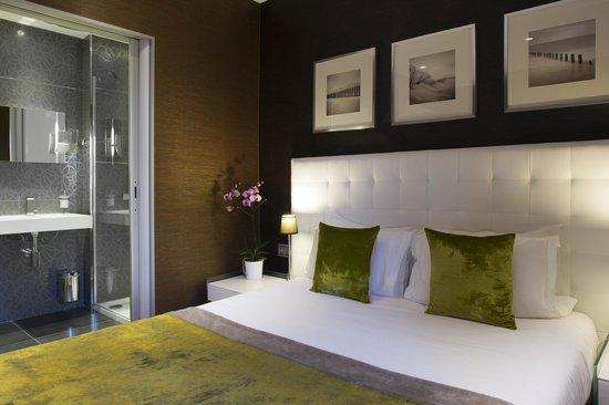 """Hotel des Arceaux: Chambre supérieure n° 202 """"Parfum d'automne"""" Elégance & design"""