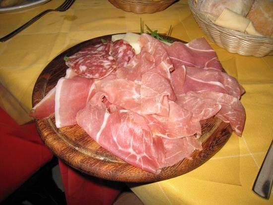 L'Immagine Ristorante Bistrot : typisch italiaans voorgerecht