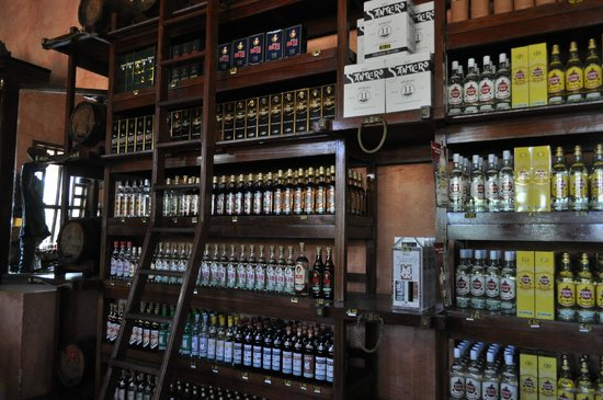 House of Rum : Some of the selection at el Ron de Cuba