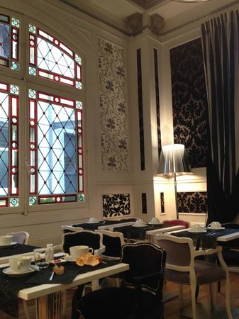Hotel de Paris : Petit déjeuner