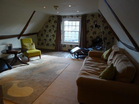 Sutherland House Hotel & Restaurant : John Sutherland Suite - living room