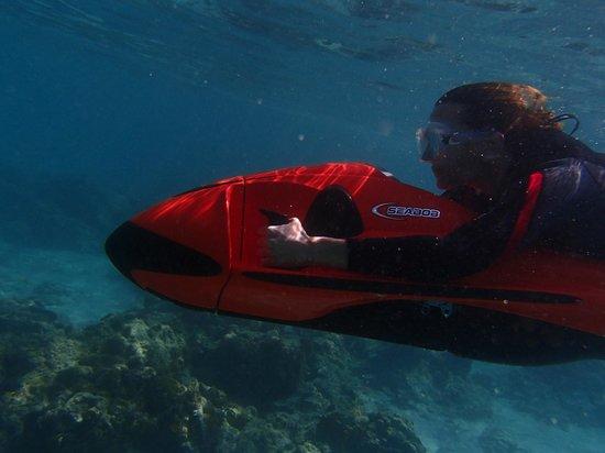 Best Way to Snorkel - Seabob Aruba