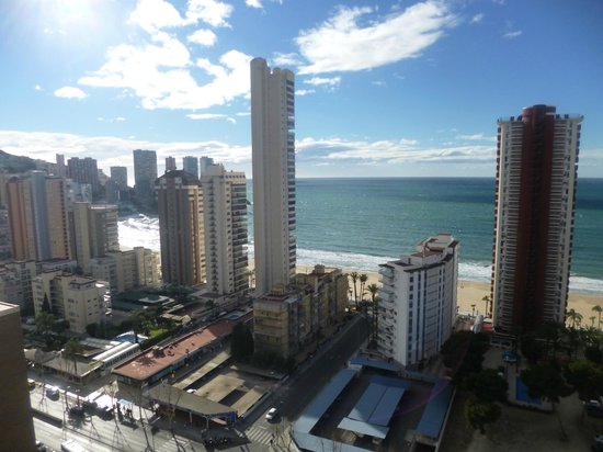 Hotel Don Pancho: View from top floor refurbished room 1711