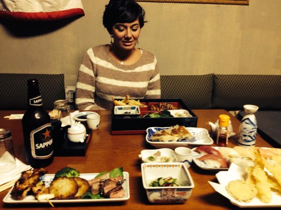 Wartrace, TN: Dinner with Sapporo & Hot Sake