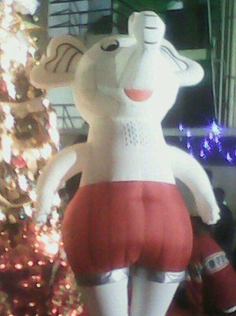 Hotel Cosmopolitan : Christmas cartoon character