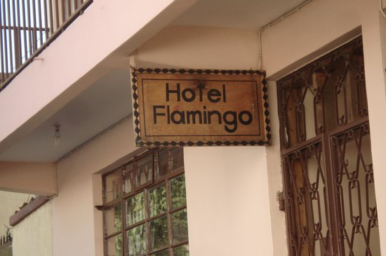 Hotel Flamingo: Hotel sign