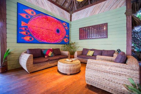Yemaya Island Hideaway & Spa : Relax in the lobby