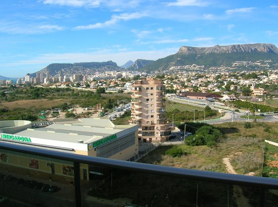 AR Diamante Beach SPA Hotel & Convention Centre: view on Calpe