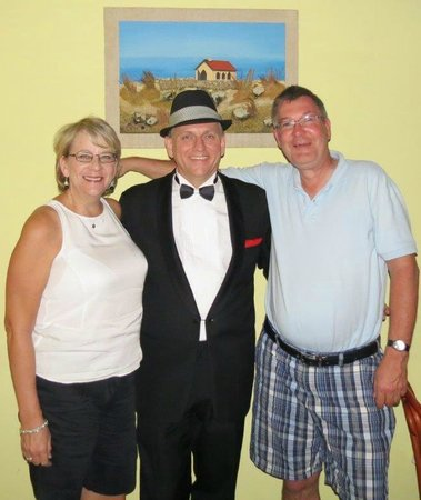 Aruba Sinatra Dinner Show: Wonderful night of Sinatra Songs