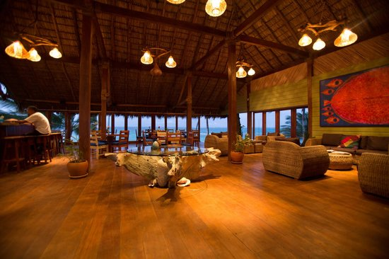 Yemaya Island Hideaway & Spa : Perfect place for a sunset dinner