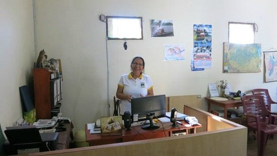 Otorongo Expeditions Jungle Lodge: Welcome to Otorongo office in Iquitos