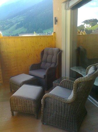 Hotel Stroblhof : balcone della suite