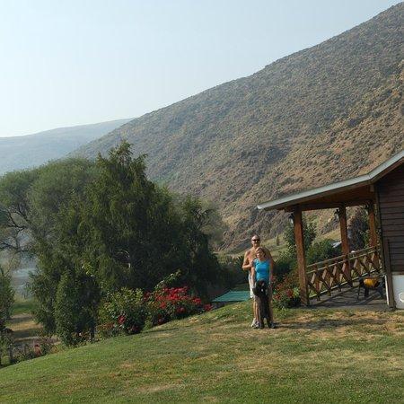 Lodge Nahuel Mapi: A puro paisaje.-