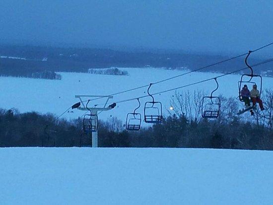 Hermon, Maine: Hermon Mountain Night Skiing