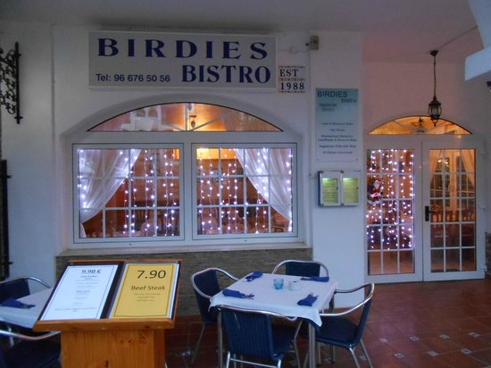 Birdies Bistro: everything for you