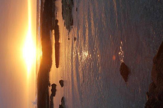 Pu'uhonua O Honaunau National Historical Park : Sunset-on the side