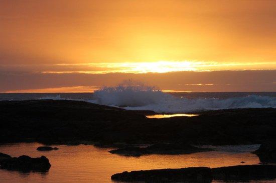 Pu'uhonua O Honaunau National Historical Park : Sunset